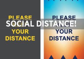 Social Distancing – Neue Motive für Ihren Boden!